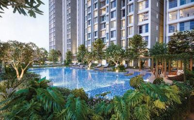 Gallery Cover Image of 1650 Sq.ft 3 BHK Apartment for buy in Kalpataru Park Riviera Wing C and D, Panvel for 10000000