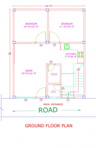 Gallery Cover Image of 720 Sq.ft 2 BHK Villa for buy in Lal Kuan for 2700000