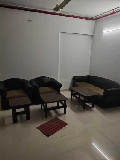 मलाड वेस्ट में मुंबई पीजी में लिविंग रूम की तस्वीर