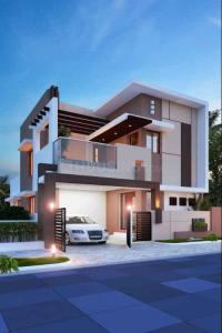 Gallery Cover Image of 1155 Sq.ft 3 BHK Independent House for buy in Singanallur for 6900000
