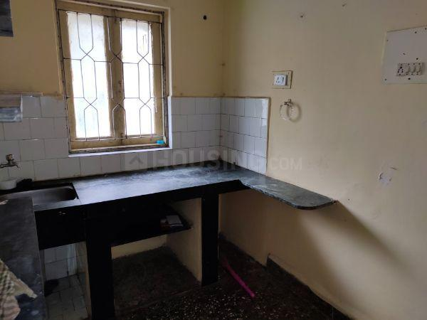 Kitchen Image of 435 Sq.ft 1 BHK Apartment for rent in Thane West for 14000