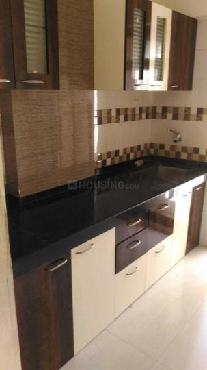 Kitchen Image of 650 Sq.ft 1 BHK Apartment for rent in Mira Road East for 12500
