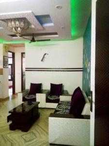 Gallery Cover Image of 800 Sq.ft 3 BHK Independent Floor for rent in Matiala for 12000