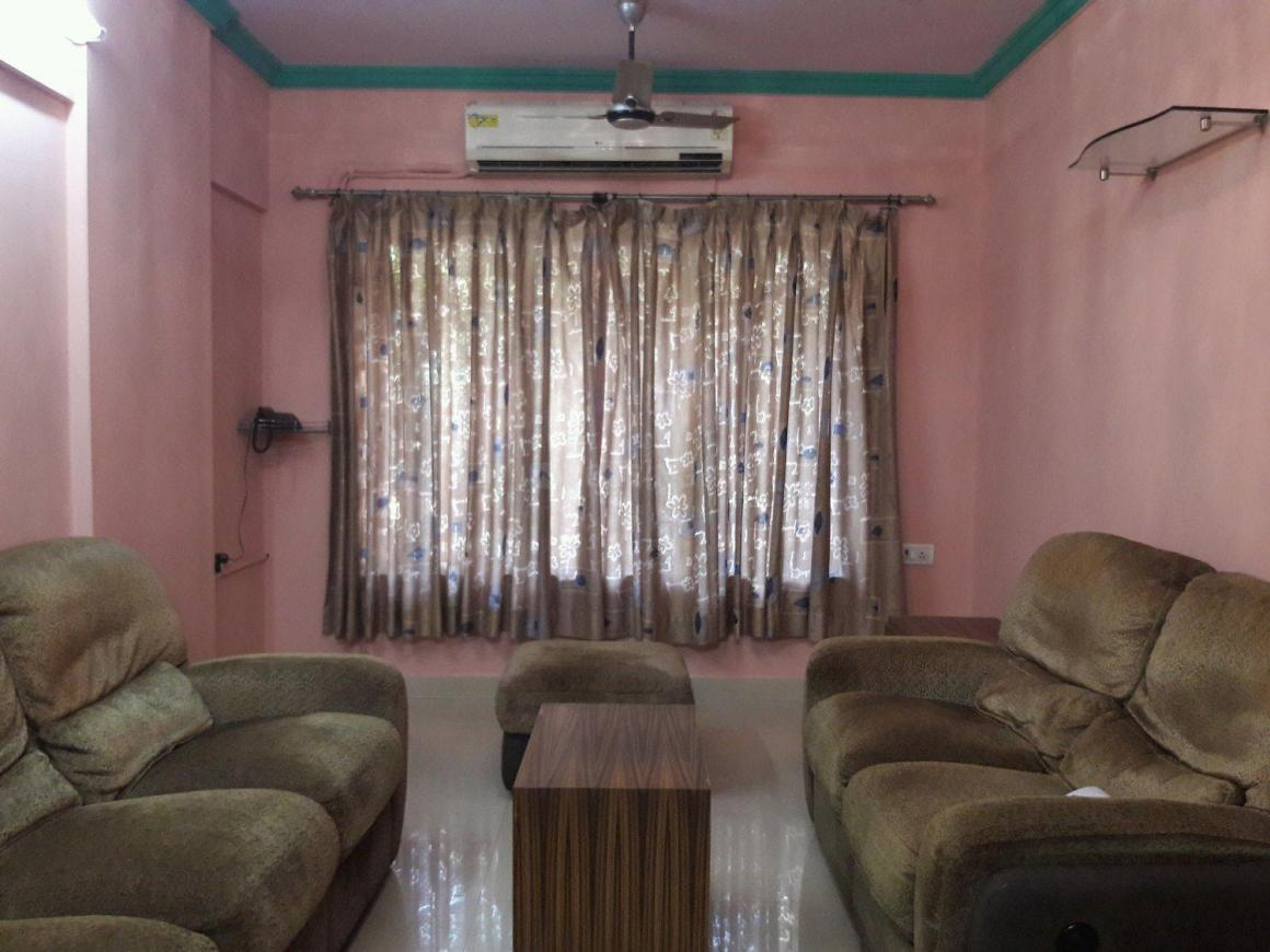 Living Room Image of 900 Sq.ft 2 BHK Apartment for rent in Andheri East for 48000