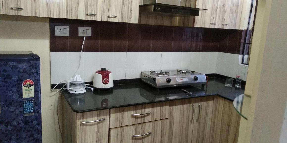 Kitchen Image of 1070 Sq.ft 2 BHK Apartment for rent in Kaikhali for 18000