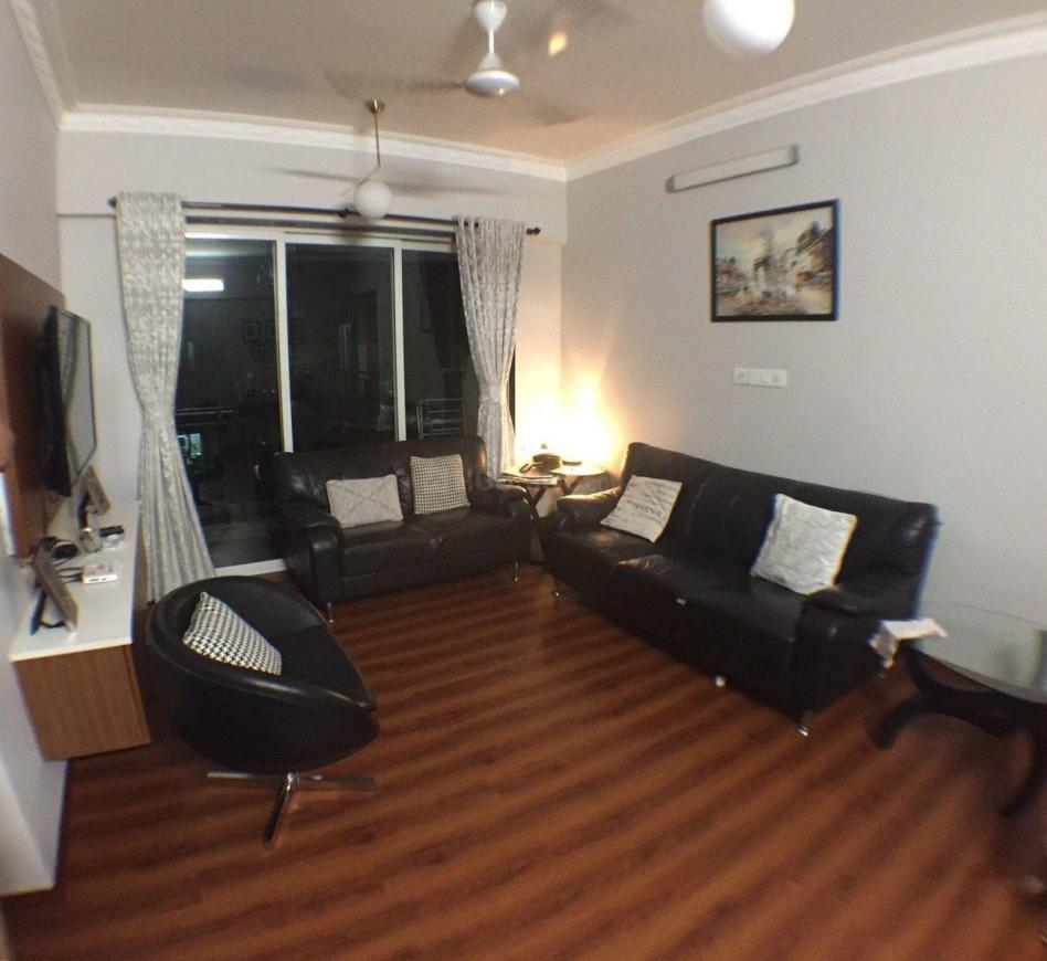 Living Room Image of 1010 Sq.ft 2 BHK Apartment for rent in Powai for 45000