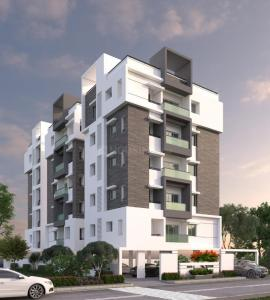 Gallery Cover Image of 1330 Sq.ft 2 BHK Apartment for buy in Mahathi Jaswitha Cyber Connect, Kondapur for 8500000