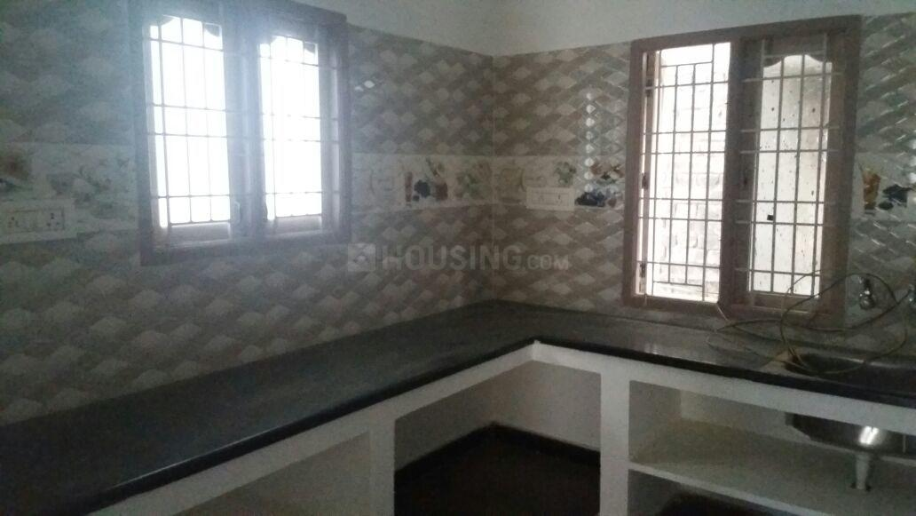Kitchen Image of 600 Sq.ft 2 BHK Independent House for buy in Hirco PALACE GARDENS for 2100000