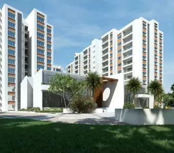 Gallery Cover Image of 1185 Sq.ft 2 BHK Apartment for buy in SLV Central Park, Bidare Agraha for 6989724