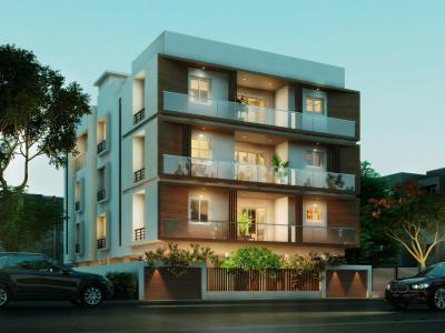 Gallery Cover Image of 1150 Sq.ft 2 BHK Apartment for buy in Adyar for 16000000