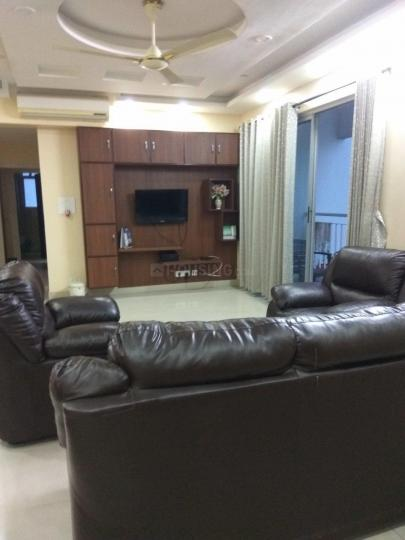 Living Room Image of 1860 Sq.ft 3 BHK Apartment for rent in New Town for 23000