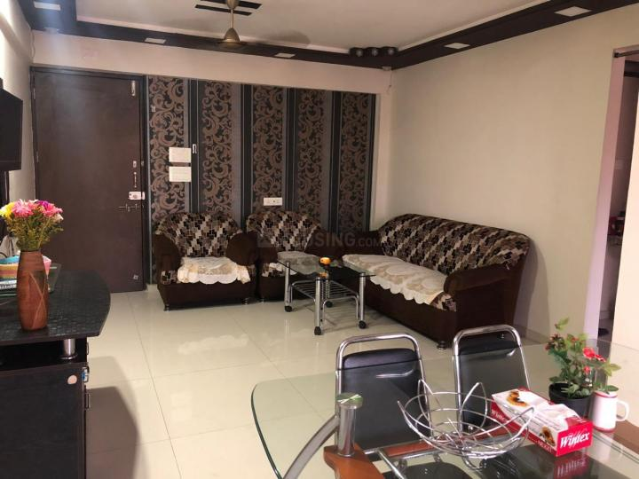 Living Room Image of 1100 Sq.ft 2 BHK Apartment for rent in Seawoods for 44000
