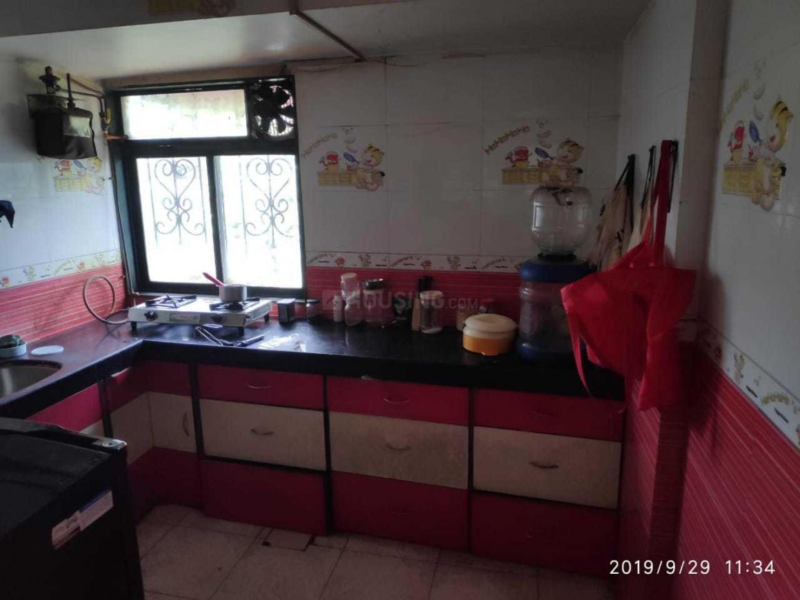 Kitchen Image of 1220 Sq.ft 1 BHK Apartment for rent in Sanpada for 25000