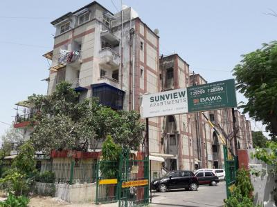 Gallery Cover Image of 550 Sq.ft 1 BHK Apartment for rent in Sunview Apartment, Sector 11 Dwarka for 10000