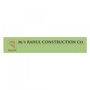 Rahul construction Co. logo
