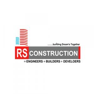 R S Construction logo