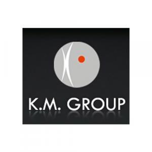 K.M. Group logo