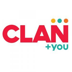 CLAN + you logo
