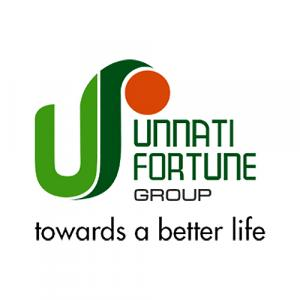 Unnati Fortune Group logo