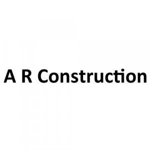 A R Construction logo