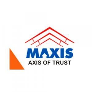 Maxis Constructions logo