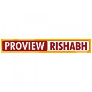 Proview Rishabh Infra logo
