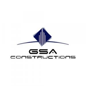 GSA Constructions logo