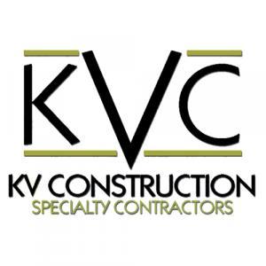 K V Construction logo