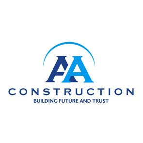 AA Construction logo