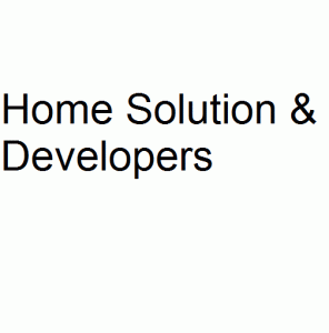 Home Solution & Developers