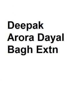 Deepak Arora Dayal Bagh Extn logo