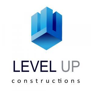 Level Up Constructions logo