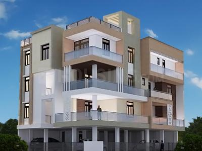 Gallery Cover Image of 1110 Sq.ft 3 BHK Apartment for buy in Investor Apartment - 9, Rajendra Nagar for 3500000