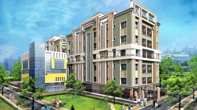 Gallery Cover Image of 850 Sq.ft 2 BHK Apartment for rent in  Club Residenza, Rajarhat for 10000