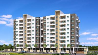 Gallery Cover Image of 600 Sq.ft 1 BHK Apartment for buy in Lifestyle Royal Oak, Wakad for 4175981