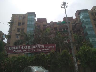 Gallery Cover Image of 1650 Sq.ft 3 BHK Apartment for rent in Delhi apartment, Sector 22 Dwarka for 31000