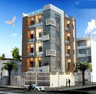 Gallery Cover Image of 1100 Sq.ft 3 BHK Independent House for buy in Saarthi Homes, Uttam Nagar for 8500000