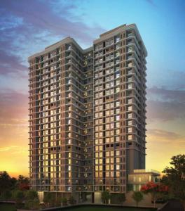 Gallery Cover Image of 310 Sq.ft 1 BHK Apartment for buy in Marathon Neovalley Kaveri, Bhandup West for 4250000