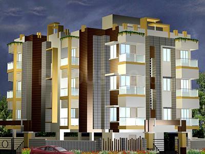 Gallery Cover Image of 1030 Sq.ft 2 BHK Apartment for rent in MKV Celesta, Jeevan Prakash Nagar for 15000