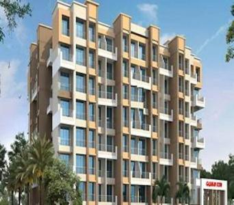 Gallery Cover Image of 610 Sq.ft 1 BHK Apartment for buy in Gajanan Icon, Vitthalwadi for 2900000