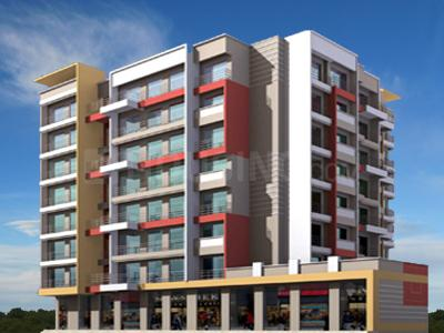 Gallery Cover Image of 600 Sq.ft 1 BHK Apartment for buy in Siddheshwar Palm, Sagarli Gaon for 3750000