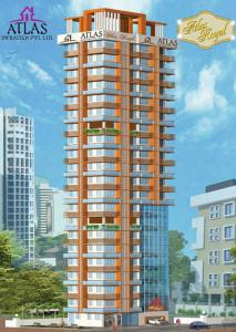 Gallery Cover Image of 1200 Sq.ft 2 BHK Apartment for rent in Atlas Royal, Girgaon for 185000