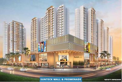 Gallery Cover Image of 407 Sq.ft 1 BHK Apartment for buy in Sunteck Maxx World 5, Vasai East for 3350000