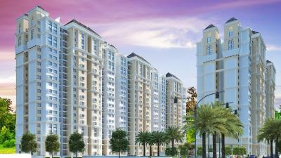 Gallery Cover Image of 1766 Sq.ft 3 BHK Apartment for rent in Puravankara Westend, Kudlu Gate for 35000