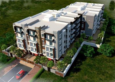 Gallery Cover Image of 1050 Sq.ft 2 BHK Apartment for buy in Sanathana Vrushabhadri Mountain, Vibhutipura for 5667000