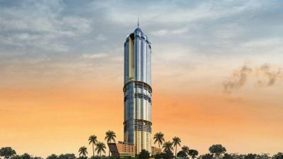 Gallery Cover Image of 535 Sq.ft 1 RK Apartment for buy in Supertech North Eye, Sector 74 for 4000000