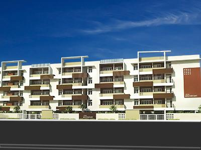 Gallery Cover Image of 1265 Sq.ft 2 BHK Apartment for rent in Sree Grandure, Kaikondrahalli for 24000