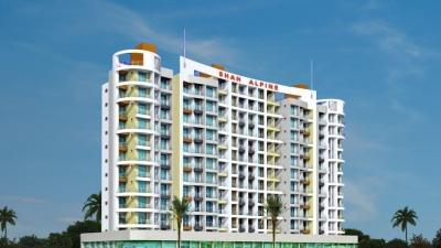 Gallery Cover Image of 675 Sq.ft 1 BHK Apartment for rent in Shah Alpine, Kharghar for 16000