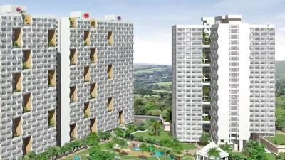 Gallery Cover Image of 1650 Sq.ft 3 BHK Apartment for rent in Soham Tropical Lagoon 5 Di Vita, Kasarvadavali, Thane West for 33000