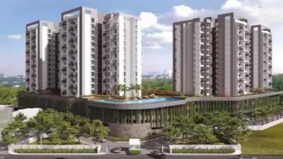 Gallery Cover Image of 459 Sq.ft 1 BHK Apartment for buy in Mahindra Alcove Wing A, Andheri East for 10000000